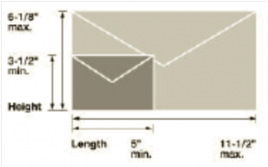 Self-Mailer Card Dimensions